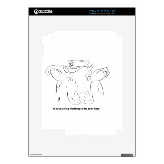 Comedy Cow Skin For The iPad 2