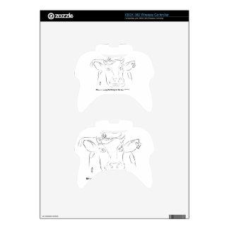 Comedy Cow Xbox 360 Controller Skin