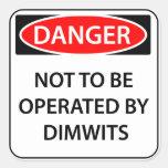 Comedy Danger Sticker