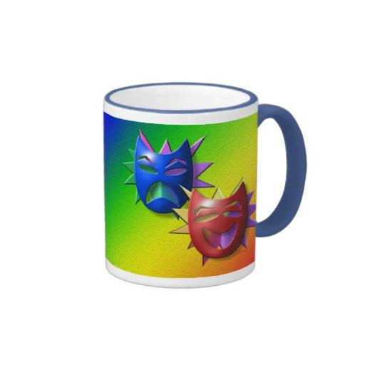 Comedy-Drama Masks Mug