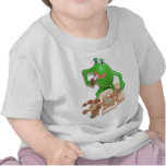 Comedy_frog_and_money_chest.png Camisetas