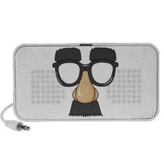 comedy funny glasses travel speakers
