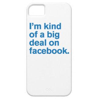 Comedy™ genérico/gran cosa en Facebook Funda Para iPhone 5 Barely There