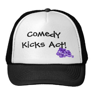 Comedy Kicks Act! Trucker Hat