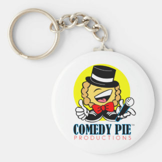 COMEDY PIE Products Keychain