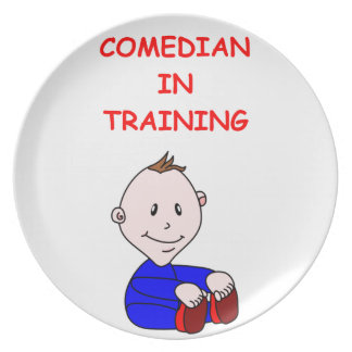 COMEDY DINNER PLATES
