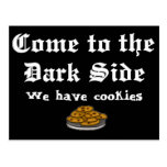 Comedy Postcard, Come to the Dark Side