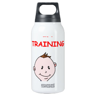 COMEDY 10 OZ INSULATED SIGG THERMOS WATER BOTTLE