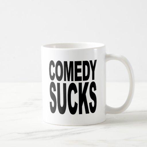 Comedy Sucks Classic White Coffee Mug