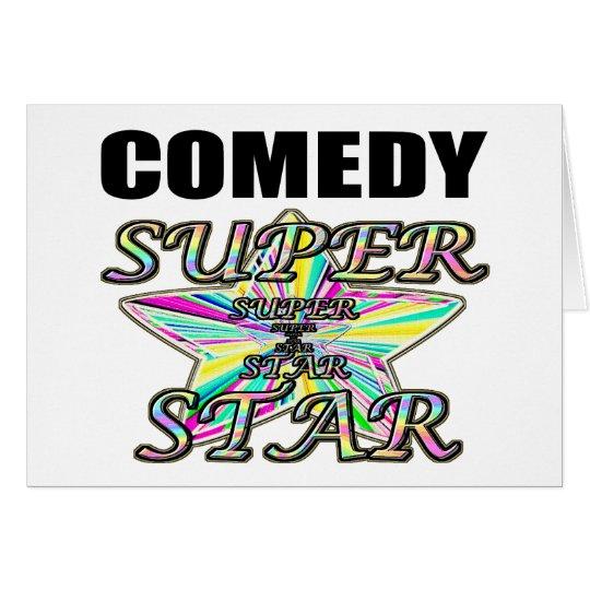 Comedy Superstar Card