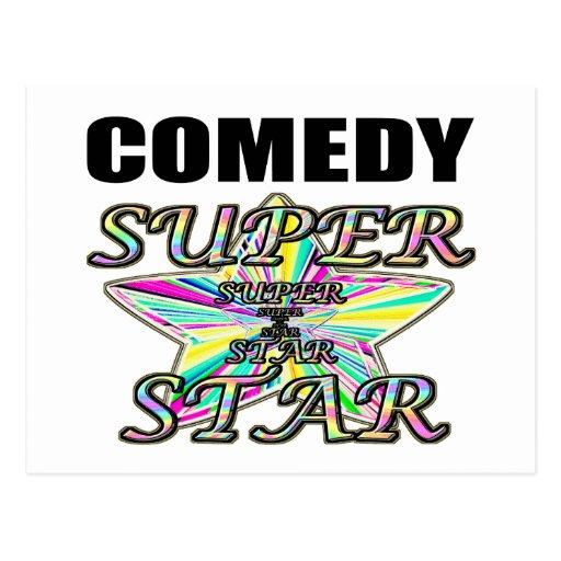 Comedy Superstar Postcard