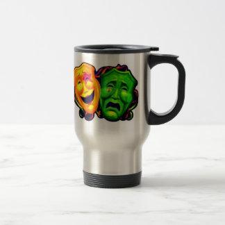 COMEDY TRAGEDY CARNIVAL MASK MARDI GRAS COFFEE MUG