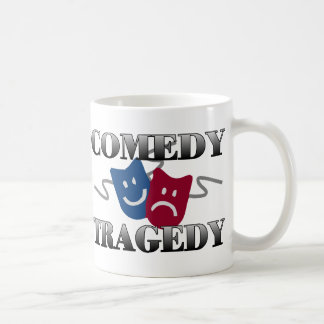 Comedy Tragedy Coffee Mug