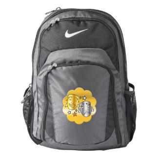 Comedy Tragedy Drama Masks Nike Backpack