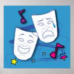 Comedy Tragedy Drama Poster