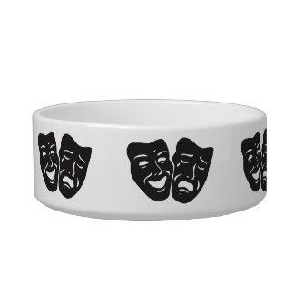Comedy Tragedy Drama Theatre Masks Bowl