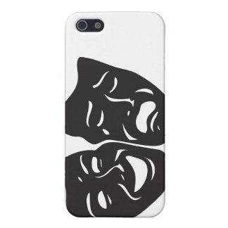 Comedy Tragedy Drama Theatre Masks Case For iPhone SE/5/5s