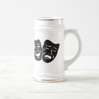 Comedy Tragedy Drama Theatre Masks Coffee Mug