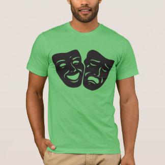 Comedy Tragedy Drama Theatre Masks T-Shirt