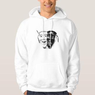 Comedy & Tragedy Hooded Sweatshirt