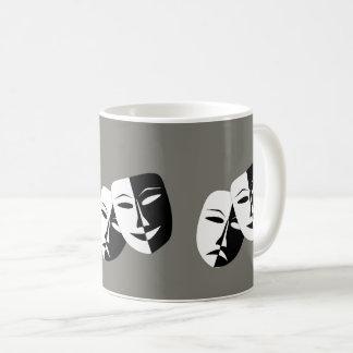 Comedy tragedy Mask ** Coffee mug