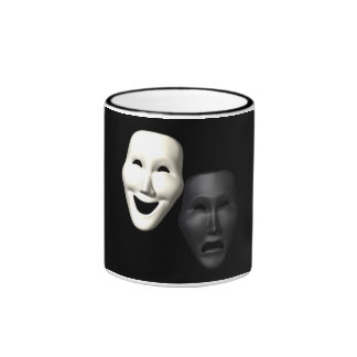 Comedy Tragedy Masks Coffee Mugs