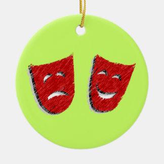 Comedy & Tragedy Ornament