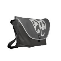 Comedy Tragedy Theater Messenger Bag