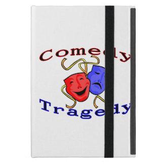 Comedy Tragedy Theatre Masks Cover For iPad Mini
