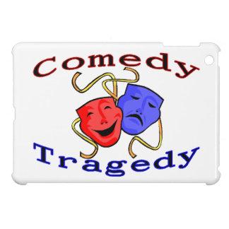 Comedy Tragedy Theatre Masks iPad Mini Cases
