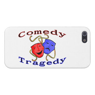 Comedy Tragedy Theatre Masks iPhone 5 Cases