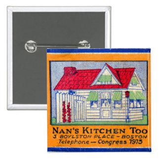 Comensal de la cocina del vintage del kitsch de Na Pins