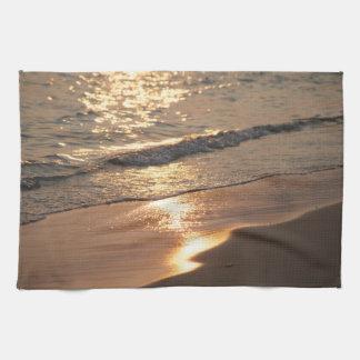 Comensal en la playa toallas de mano