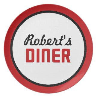Comensal personalizado plato