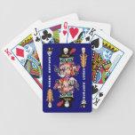 Comentarios del artista de la opinión de la maldic baraja cartas de poker