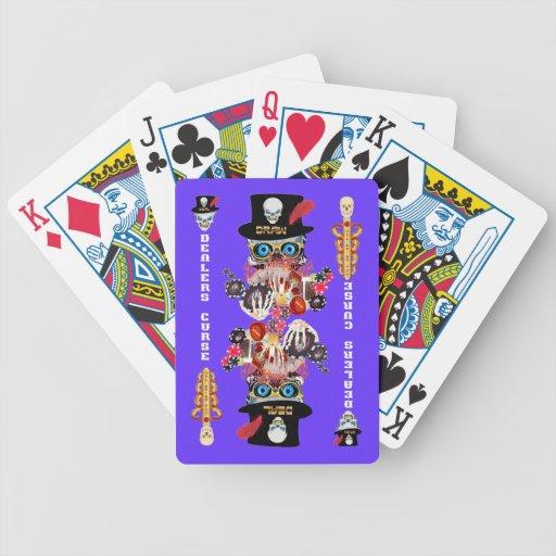 Comentarios del artista de la opinión de la maldic cartas de juego