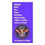 Comentarios patrióticos o del veterano de la opini tarjetas fotograficas personalizadas
