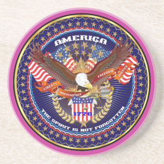 Comentarios patrióticos o del veterano de la posavasos manualidades