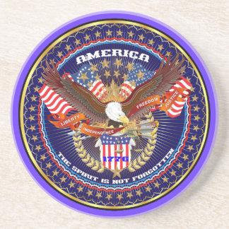 Comentarios patrióticos o del veterano de la posavasos cerveza