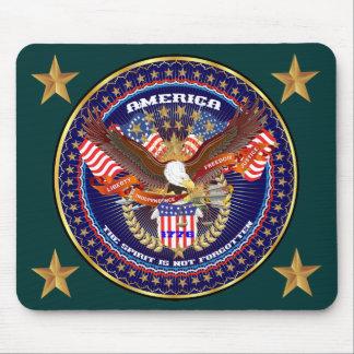 Comentarios patrióticos o del veterano de la tapete de ratones