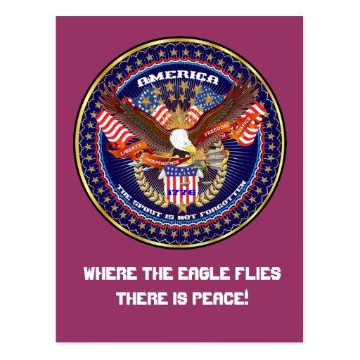 Comentarios patrióticos o del veterano de la tarjeta postal