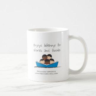 Comentarios preescolares del profesor taza de café