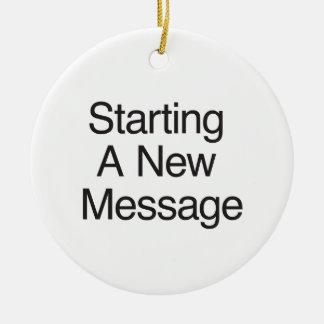 Comenzar un nuevo mensaje ornamentos de reyes magos