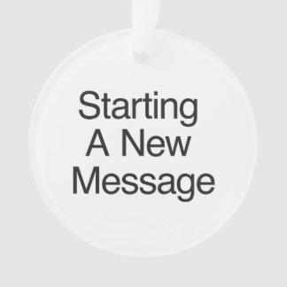 Comenzar un nuevo Message.ai