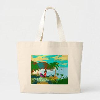 ComeonbackMon Canvas Bag