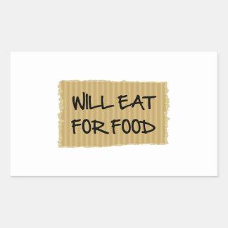 Comerá para la comida rectangular altavoz