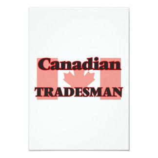 """Comerciante canadiense invitación 3.5"""" x 5"""""""