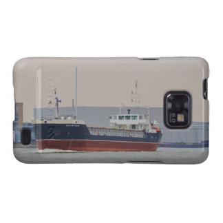Comerciante de Shetland del buque de carga general Samsung Galaxy SII Fundas