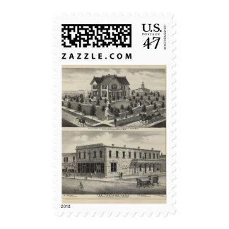 Comerciantes banco, Kansas de Phillipsburg Sello Postal