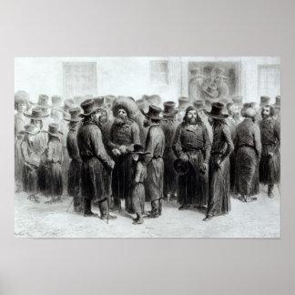 Comerciantes y comerciantes judíos poster